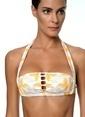 Movom Yüksek Bel Bikini Sarı